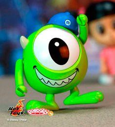 Minifigura Cosbaby Mike 8 cms. Monstruos University. Hot Toys