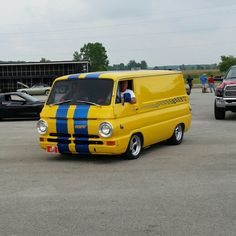 Van from the Hot Rod Power Tour. Day 4 in Norwalk OH. 6/10/14 #HRPT