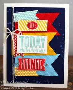 Creative Chelsey: Amazing Birthday - Make Today Ridiculously Amazing Card