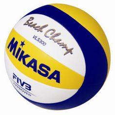 Beach-Volleyball MIKASA® BEACH CHAMP VLS 300, Größe 5: Amazon.de: Sport & Freizeit