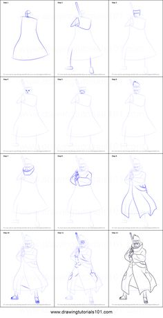How to Draw Kisame Hoshigaki from Naruto step by step printable drawing sheet to print. Learn How to Draw Kisame Hoshigaki from Naruto Naruto Pictures, Pictures To Draw, Akatsuki, Naruto Drawings, Drawing Sheet, Sketches Tutorial, Anime Sketch, Step By Step Drawing, Anime Artwork
