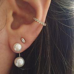 Pretty in pearls...and diamonds ⚪️#xoZC
