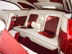 Mercury Convertible Custom by Dick Dean, 1949 interior