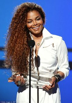 Her big night! Janet Jacksonwas honoured on Sunday at the BET Awards in Los Angeles...
