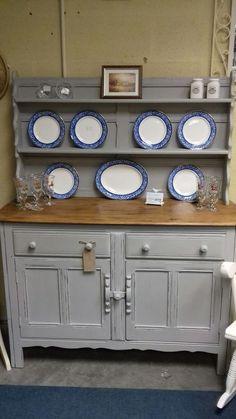 details about ercol dresser painted annie sloan paris grey
