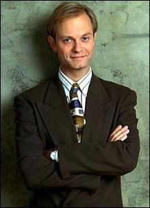 Niles Crane.  My favorite character on the show! He always cracked me up!