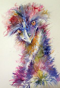 Buy Ostrich, Watercolours by Kovács Anna Brigitta on Artfinder. Discover thousands of other original paintings, prints, sculptures and photography from independent artists.
