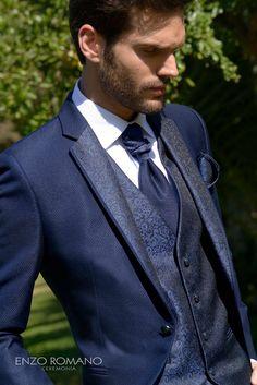 94d90f87c 17 mejores imágenes de trajes de novio azul marino