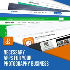 Necessary Apps for Your Photography Business (Digital Photography School) Digital Photography School, Photography Gear, Photography Courses, Photography Business, Business Bank Account, Lighting Diagram, Aperture And Shutter Speed, Crm System, Photography Packaging