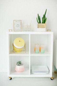 bookcase via oh, i design blog
