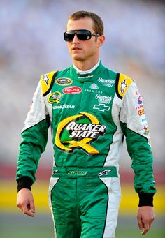 Kasey Kahne #5 Quaker State Chevy walking on pit road