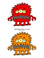 Free Silly Monster Preschool Printables