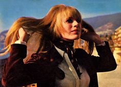 Rare photo of Marianne Faithfull at San Remo Song Festival | 1967 | Scanned by Faithfull Forever (Please keep credit.)