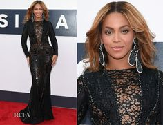 Beyonce Knowles In Nicolas Jebran Couture - 2014 MTV Video Music Awards #VMA - Red Carpet Fashion Awards