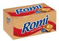 Romi Med Fat Spread Brick - each at OK Grocer Danabaai Valid till Watch This Space, Brick, Fat, Bricks