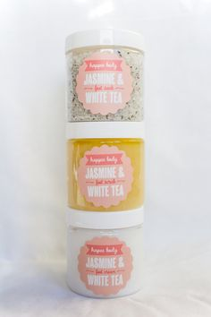 Happee Body Jasmine & White Tea Foot Spa Gift Set by HappeeBody