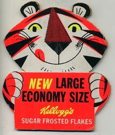 Kelloggs Tony The Tiger sign