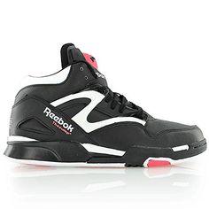 996b9486a7eee4 Reebok Classic Pump Omni Lite Black Womens Sneakers