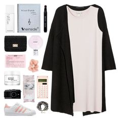 """""""I'M YOUR ADIDAS QUEEN"""" by elainesabine ❤ liked on Polyvore featuring Karl Lagerfeld, Monki, adidas Originals, philosophy, NARS Cosmetics, Josie Maran, Accessorize, Bobbi Brown Cosmetics, women's clothing and women"""