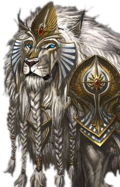The majestic and beautiful White War Lions — the crowning glory of concept art, Warhammer: Age of Reckoning. See them full-sized: Top Center Row (L) (R) Bottom Row (L) (R) Character Portraits, Character Art, Character Design, Creature Drawings, Animal Drawings, Fantasy Beasts, Fantasy Art, Fantasy Creatures, Mythical Creatures