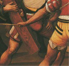 Camino del calvario, Vicente Macip (Juan de Juanes), entre 1525-29, Museo Diocesano de la Catedral de Segorbe, Castellón