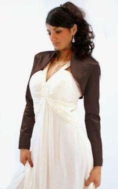 Le boléro en satin (2640): Amazon.fr: Vêtements et accessoires