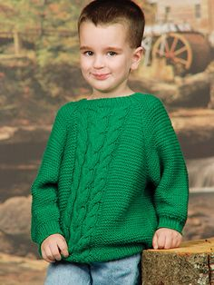 Knitting - Patterns for Children & Babies - Sweater Patterns - Mountain Climber Pullover