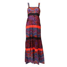 Tribal Zig Zag Maxi Dress | The Hippy Clothing Co.