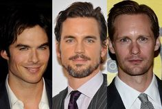 'Fifty Shades of Grey': E.L. James May Consider Top Contenders Matt Bomer, Henry Cavill, Ian Somerhalder..               Do you think E L James will consider the fan favorites since she did ask fans via twitter who they wanted to play Christian Grey?     Here is whats being reported on this..    E.L. James is finally acknowledging the fans' obsession with casting Christian Grey with a simple interaction on Twitter.