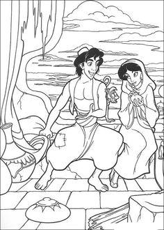 Aladdin Kleurplaten 11