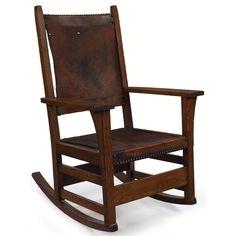 89 406 Lc Loose Cushion Bow Arm Morris Chair And Ottoman