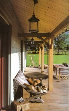 love the idea of covering just a portion of the deck with a roof | #panel #wood #madera #covering #deco #design #interior