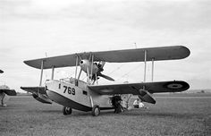 [Flying boat No. 769 (Supermarine Walrus)] - City of Vancouver Archives Ww2 Aircraft, Fighter Aircraft, Military Aircraft, Fighter Jets, Royal Australian Air Force, Float Plane, Ww2 Pictures, Flying Boat, Aircraft Design