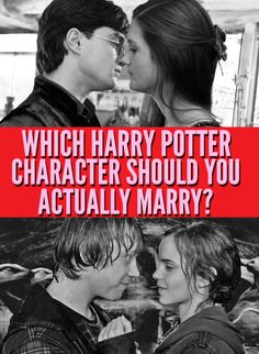 Which Harry Potter Character Should You Actually Marry?