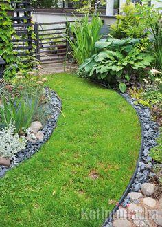 Pienessä pihassa valinnat ja ratkaisut korostuvat. Kun kaikki ei mahdu puutarhaan kannattaa valita vain parhaimmat päältä. Ja voiko tämän kauniimpaa olla? www.kotipuutarha.fi