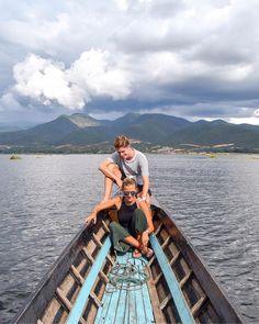 Inle Lake boat tour Myanmar Burma - Charlie & Lauren UK Travel Couple - Wanderers & Warriors