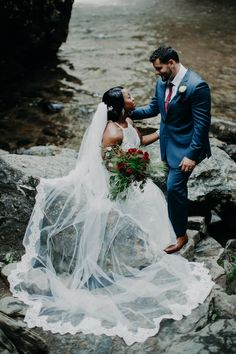Gorgeous waterfall wedding shoot in Brevard, NC. Shot by Taylor Heery Photography. Wedding Shoot, Wedding Dresses, Waterfall Wedding, Photography Couples, Asheville, Wedding Vendors, Style, Fashion, Bride Dresses