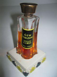 RARE Vintage NEW HORIZONS Ciro Perfume Splash Ref # 915 .5 fl oz  #CIRO