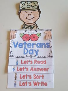 Second Grade Nest: Veterans Day Activities for Elementary Students