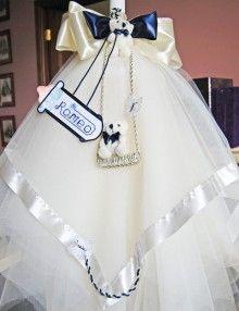 Lumanare de botez cu decor personalizat