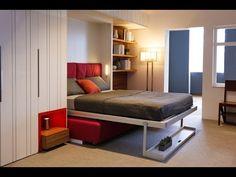 Idéias de móveis retráteis no apartamento pequeno