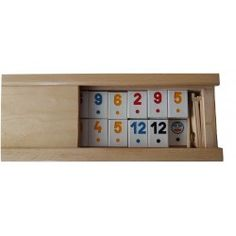 New big rummy rummikub game white classical piece children's travel strategy family game board game in handmade beech wooden box Strategy Games, Family Games, Travel With Kids, Wooden Boxes, Board Games, Shelves, Storage, Handmade, Furniture