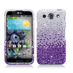 Cell Cases USA - LG Optimus G PRO Purple Silver Waterfall Hard Cover Case **************Use the code : CCUPIN to get 15% off your purchase and get your FREE shipping within the U.S !!  Check out our site for more awesome cases @ www.cellcasesusa.com