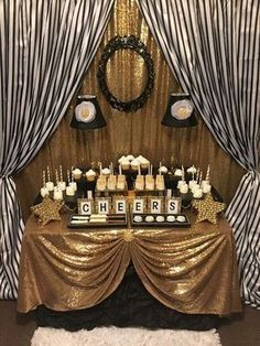 18 Birthday Party Decorations Gold 70th Parties Golden