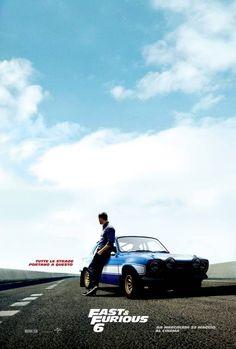 #Fast6 - Paul Walker character poster