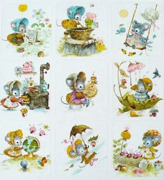 Norcross cute mouse stickers