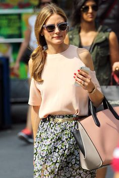 Olivia Palermo Debuts Her Engagement Ring