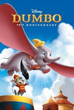 Dumbo (1941) movie #poster, #tshirt, #mousepad, #movieposters2