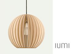 aion   IUMI DESIGN wooden ceiling lamp por IUMIDESIGN en Etsy, €119.00