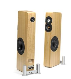 Boenicke W8 High End Speakers, Monitor Speakers, Diy Speakers, Bookshelf Speakers, High End Audio, Wooden Speakers, Floor Standing Speakers, Speaker Stands, Hifi Audio